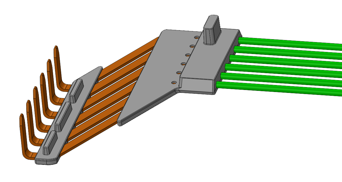 6 Pin Over-molded Connector