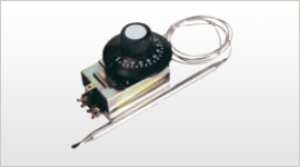 RNTS HIGH AMPERE BULB & CAPILLARY THERMOSTAT