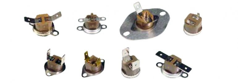 "1NT Series 1/2"" Disc Thermostats"